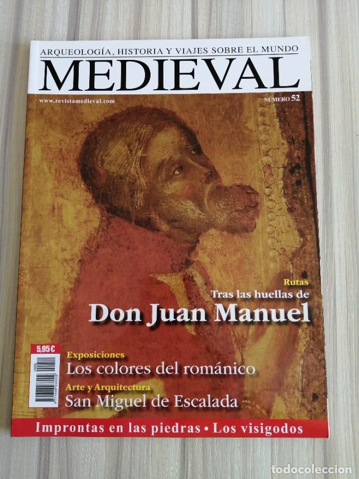 Coleccionismo de Revistas y Periódicos: Lote 15 revistas Mundo Medieval - Foto 5 - 219618366