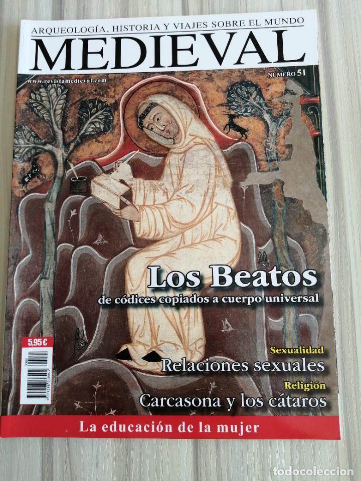 Coleccionismo de Revistas y Periódicos: Lote 15 revistas Mundo Medieval - Foto 8 - 219618366
