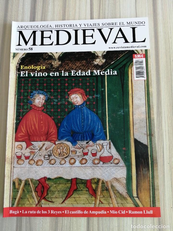 Coleccionismo de Revistas y Periódicos: Lote 15 revistas Mundo Medieval - Foto 9 - 219618366