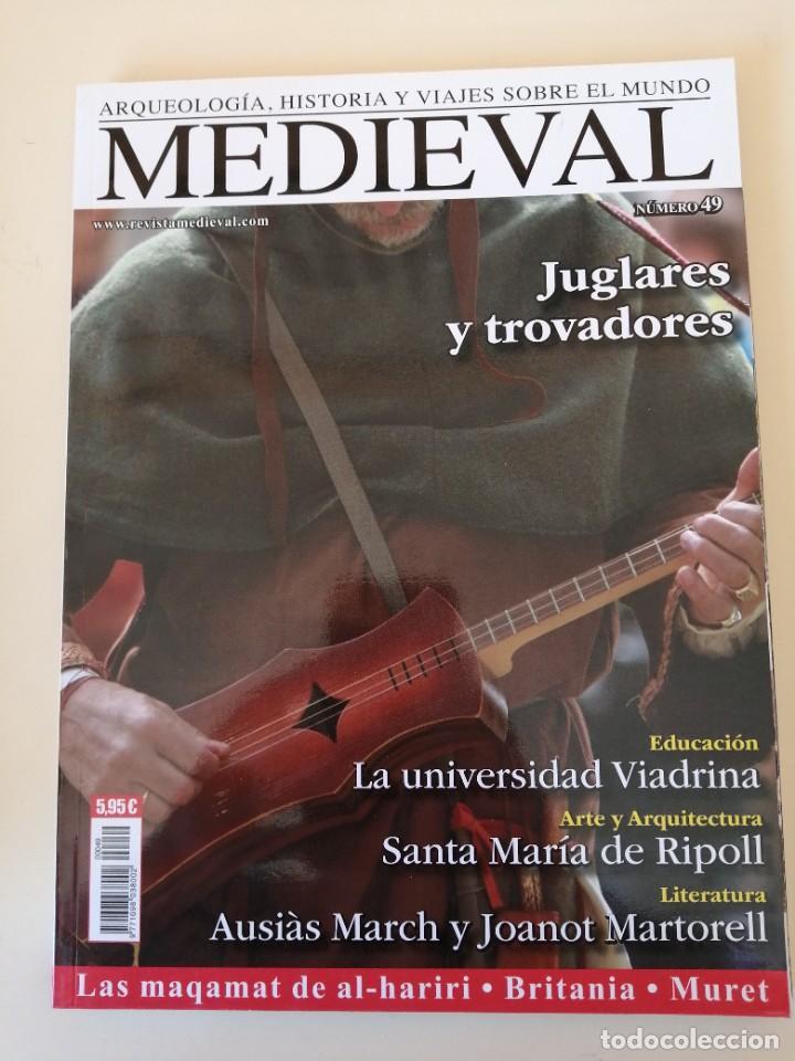 Coleccionismo de Revistas y Periódicos: Lote 15 revistas Mundo Medieval - Foto 15 - 219618366