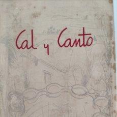Coleccionismo de Revistas y Periódicos: REVISTA CAL Y CANTO. ALBACETE. 1959. DEDICADO Y FIRMADO POR JOSÉ Mª BLANC.. Lote 220248511