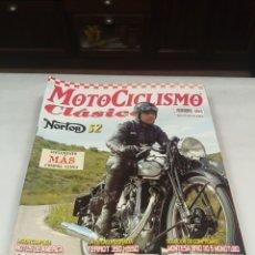 Coleccionismo de Revistas y Periódicos: MOTOCICLISMO CLÁSICO. N. 30. NORTON S2. TERROT 350. MONTESA BRÍO 110 S.. Lote 220306170