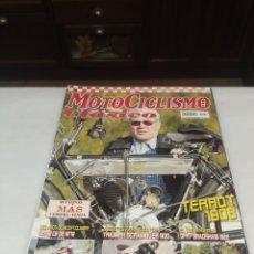 Coleccionismo de Revistas y Periódicos: MOTOCICLISMO CLÁSICO. N. 42. TERROT 1908. DERBI C6. TRIUMPH SCRABBLER 900. DRF BRADSHAW 1922.. Lote 220306255