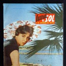 Colecionismo de Revistas e Jornais: REVISTA LUNA Y SOL, Nº 185, SEPTIEMBRE 1959. VILLA DE HERVAS. LAS RÍAS NERIAS. PALMA DE MALLORCA. MO. Lote 220373697