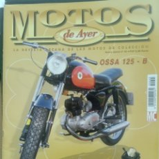 Collectionnisme de Revues et Journaux: MOTOS DE AYER. N. 45. OSSA 125-B. MOSQUITO. HONDA DREAM. OSSA URBE.. Lote 220375920