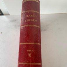 Coleccionismo de Revistas y Periódicos: TOMO DE LA REVISTA BLANCO Y NEGRO 25 NÚMEROS. Lote 220383628