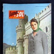 Coleccionismo de Revistas y Periódicos: REVISTA LUNA Y SOL, Nº 247, NOVIEMBRE 1964. EL MIRADOR DE -EL TOMBO- MODA. Lote 220442582