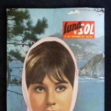 Coleccionismo de Revistas y Periódicos: REVISTA LUNA Y SOL, Nº 257, SEPTIEMBRE 1965. TOLEDO DEL NORTE. TARAZONA. RIOFRÍO. Lote 220442757