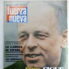 Coleccionismo de Revistas y Periódicos: REVISTA FUERZA NUEVA Nº 682 - 2 DE FEBRERO 1980. Lote 220584351