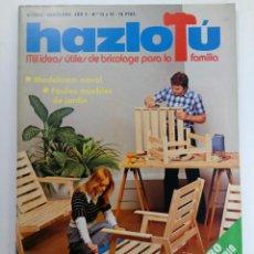 Coleccionismo de Revistas y Periódicos: HAZLO TU MISMO - AÑO 2 NÚMEROS 13 Y 14 - NÚMERO EXTRAORDINARIO 100 PÁGINAS (SIN USAR). Lote 220588271