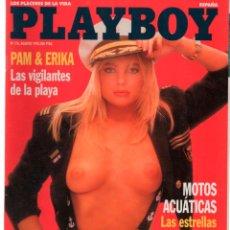 Coleccionismo de Revistas y Periódicos: PLAYBOY Nº 176 ERIKA ELENIAK PAMELA ANDERSON, TINTO BRASS, KINGA PETROVIC. Lote 220706146