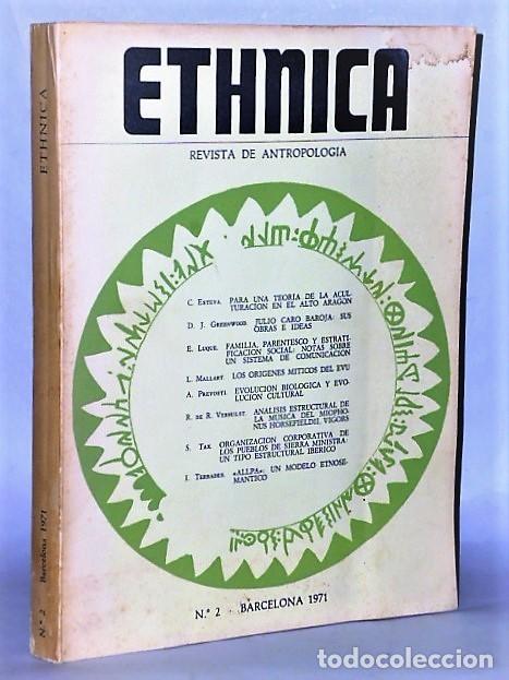 ETHNICA. REVISTA DE ANTROPOLOGÍA. JULIO-DICIEMBRE. Nº 2 1971 (Coleccionismo - Revistas y Periódicos Modernos (a partir de 1.940) - Otros)