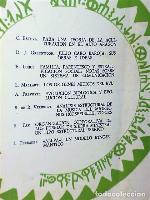 Coleccionismo de Revistas y Periódicos: ETHNICA. Revista de Antropología. Julio-Diciembre. Nº 2 1971 - Foto 2 - 220724793