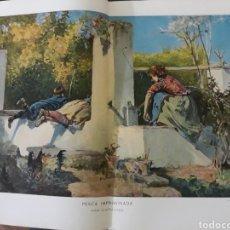 Coleccionismo de Revistas y Periódicos: PESCA IMPROVISADA MUÑOZ LUCENA . AÑO 1902 . 35 X 22 CM. Lote 220733866