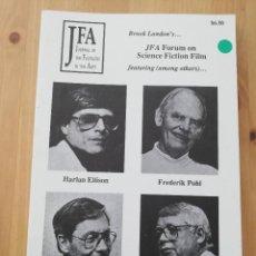 Coleccionismo de Revistas y Periódicos: JOURNAL OF THE FANTASTIC IN THE ARTS VOL. 2 NO. 2 (1989) JFA FORUM ON SCIENCE FICTION FILM. Lote 220751988