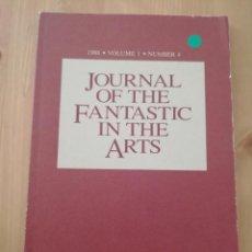 Coleccionismo de Revistas y Periódicos: JOURNAL OF THE FANTASTIC IN THE ARTS VOLUME 1, NUMBER 4 (1988). Lote 220752273