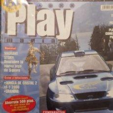 Coleccionismo de Revistas y Periódicos: PLAYMANIA PARA USUARIOS PLAYSTATION NUM 19 COLIN MCRAE 2, SIDNEY 2000,VAGRANT STORY JUNGLA CRISTAL. Lote 220830078