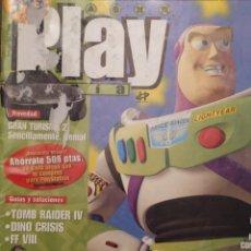 Coleccionismo de Revistas y Periódicos: PLAYMANIA PARA USUARIOS PLAYSTATION NUM 13 TOY STORY,TOMB RAIDER IV,DINO CRISIS,FF VIII,EHRGEIZ. Lote 220830335