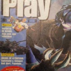Coleccionismo de Revistas y Periódicos: PLAYMANIA , PLAYSTATION NUM 8 SOUL REAVER, APE ESCAPE,COMMAND & CONQUER,CRASH BANDICOOT 3,METAL GEAR. Lote 220832072