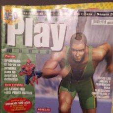 Coleccionismo de Revistas y Periódicos: PLAYMANIA , PLAYSTATION NUM 20 SIDNEY 2000,SPIDERMAN,KONAMI,A SANGRE FRIA,JEDI POWER BATTLES. Lote 220832235