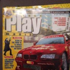 Coleccionismo de Revistas y Periódicos: PLAYMANIA , PLAYSTATION NUM 29:ALONE IN THE DARK IV,C-12,EVIL DEAD,QUAKE III,CRAZY TAXI, COCHES. Lote 220832520