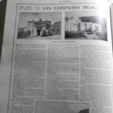 Coleccionismo de Revistas y Periódicos: POR TIERRA DE MOROS . LAS COFRADÍAS RELIGIOSAS. ARTÍCULO AÑO 1922. Lote 220847380