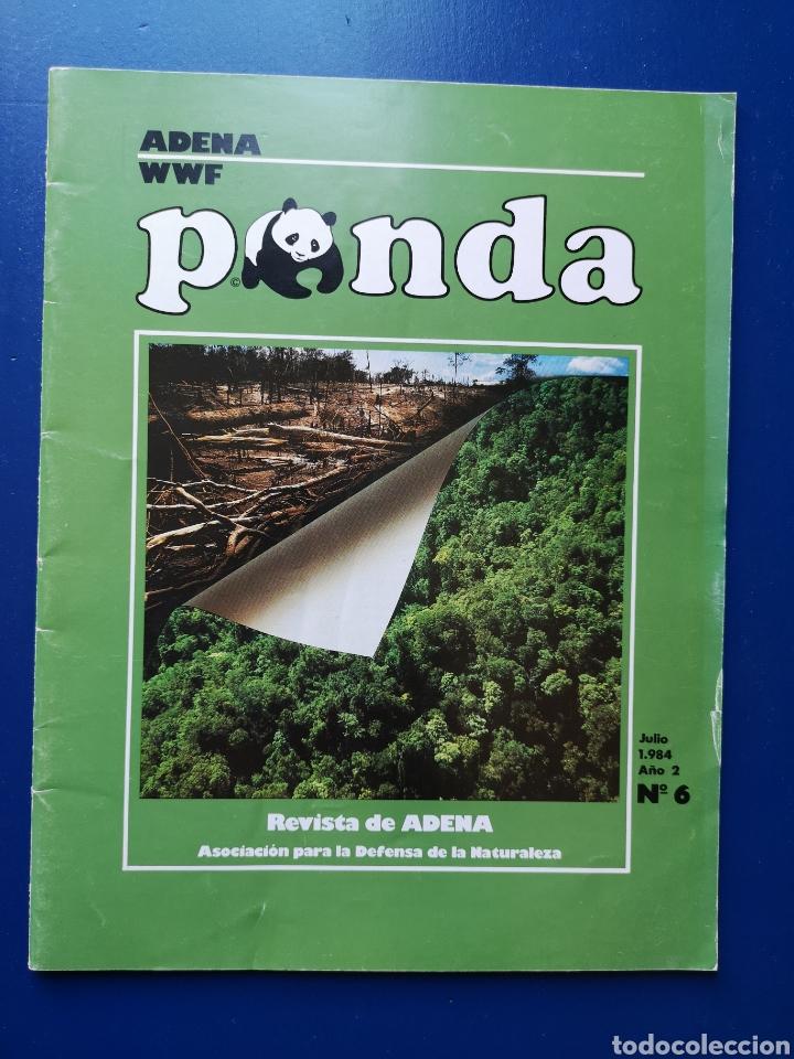 REVISTA ADENA WWF PANDA N°6. JULIO 1984. (Coleccionismo - Revistas y Periódicos Modernos (a partir de 1.940) - Otros)