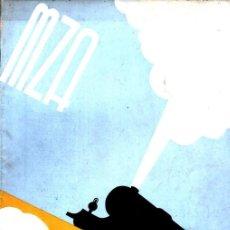 Coleccionismo de Revistas y Periódicos: REVISTA MZA Nº 8 - JULIO 1936 - FERROCARRILES, COSTA BRAVA. Lote 221131841