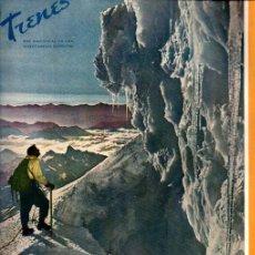 Coleccionismo de Revistas y Periódicos: REVISTA TRENES Nº 49 - INVIERNO 1951-52 - FERROCARRILES RENFE. Lote 221132541