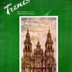 Coleccionismo de Revistas y Periódicos: REVISTA TRENES Nº 52 - OTOÑO 1952 - FERROCARRILES RENFE. Lote 221133045