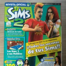 Coleccionismo de Revistas y Periódicos: VIDEO JUEGO, REVISTA SIMS 2 NUM. 11 CON DISCO CD - ORIGINAL OFICIAL. Lote 221155580