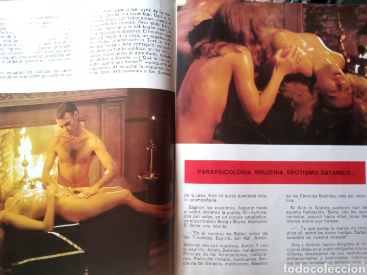 Coleccionismo de Revistas y Periódicos: ESCALOFRÍO revista DIFÍCIL MUY RARA - Foto 3 - 221171523
