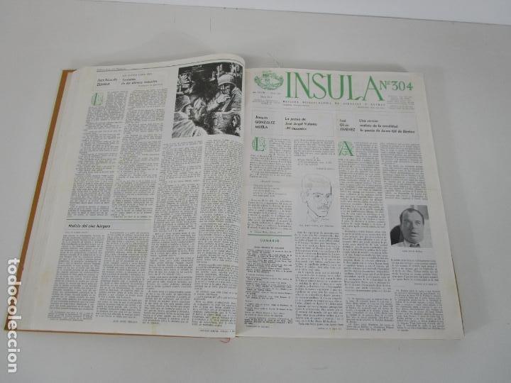 Coleccionismo de Revistas y Periódicos: Revista Insula Bibliográfica de Ciencia y Letras - 36 Tomos Encuadernados - del 1964 al 1975 - Foto 5 - 219349548