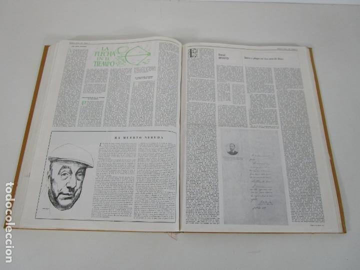 Coleccionismo de Revistas y Periódicos: Revista Insula Bibliográfica de Ciencia y Letras - 36 Tomos Encuadernados - del 1964 al 1975 - Foto 7 - 219349548