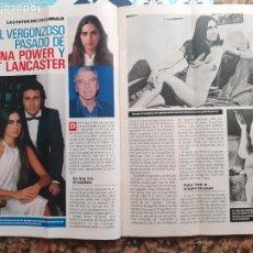 Coleccionismo de Revistas y Periódicos: ROMINA POWER BURT LANCASTER. Lote 221482205