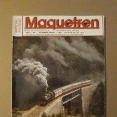 Coleccionismo de Revistas y Periódicos: MAQUETREN AÑO 1 - N° 2 DIC - ENE 1991. ESPECIAL NAVIDAD. Lote 221485856