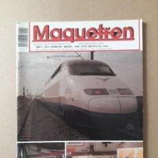Coleccionismo de Revistas y Periódicos: MAQUETREN AÑO 1 - N° 3 FEBRERO-MARZO 1992.. Lote 221552778