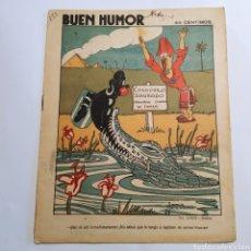 Coleccionismo de Revistas y Periódicos: SEMANARIO SATÍRICO BUEN HUMOR, 24 DE MAYO DE 1925, PORTADA DIBUJO DE SAMA, CONTRAPORTADA BILBAO. Lote 221568646