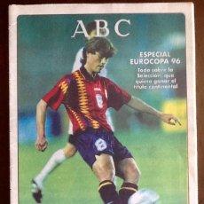 Coleccionismo de Revistas y Periódicos: PERIODICO ABC. 1996. - ESPECIAL EUROCOPA 96 - ENVIO INCLUIDO.. Lote 221589548