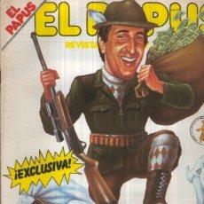 Coleccionismo de Revistas y Periódicos: EL PAPUS REVISTA DE HUMOR NUMERO 396 (1981): EL BRAGUETAZO DE FRANCIS. Lote 221630395