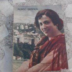 Coleccionismo de Revistas y Periódicos: MUNDO GRAFICO Nº 331, 1918,. Lote 221645173