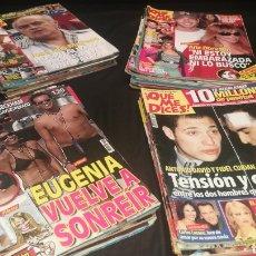 Coleccionismo de Revistas y Periódicos: LOTE DE 35 REVISTAS ¡ QUÉ ME DICES!. Lote 221707223