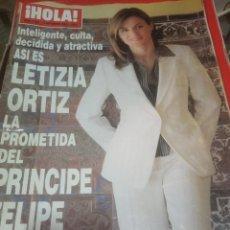 Coleccionismo de Revistas y Periódicos: REVISTA HOLA. Lote 221707538