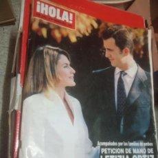 Coleccionismo de Revistas y Periódicos: HOLA REVISTA. Lote 221709002