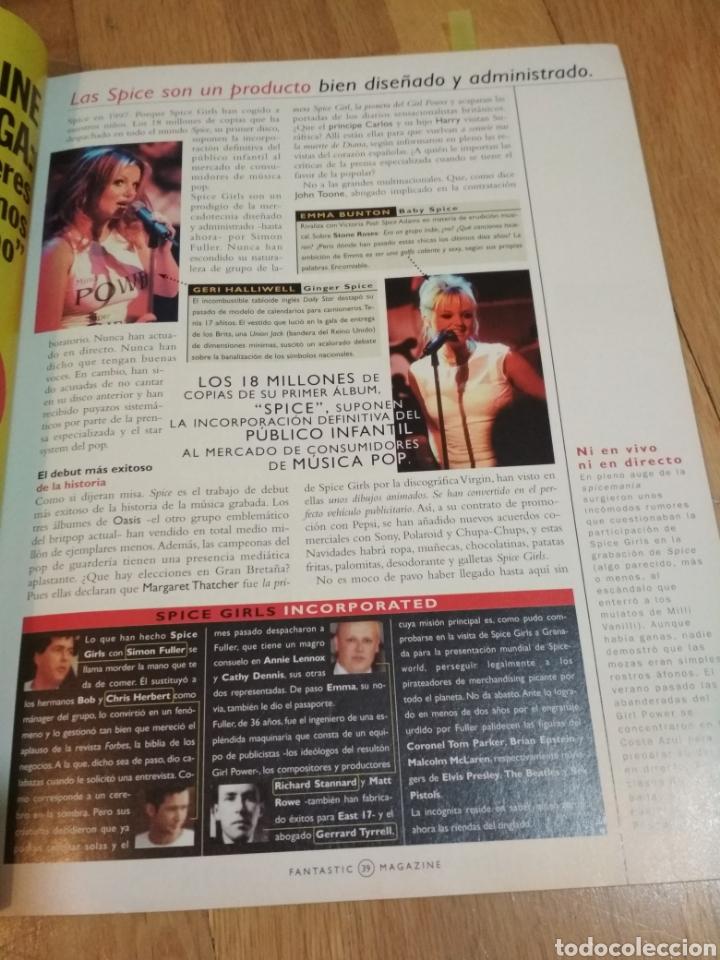 Coleccionismo de Revistas y Periódicos: Fantastic magazine 1997 Spice Girls Madonna Mecano Michael Jackson - Foto 3 - 221730911