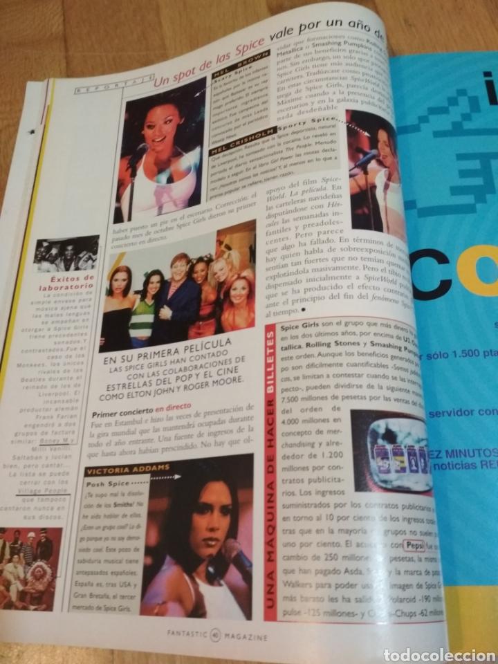 Coleccionismo de Revistas y Periódicos: Fantastic magazine 1997 Spice Girls Madonna Mecano Michael Jackson - Foto 4 - 221730911