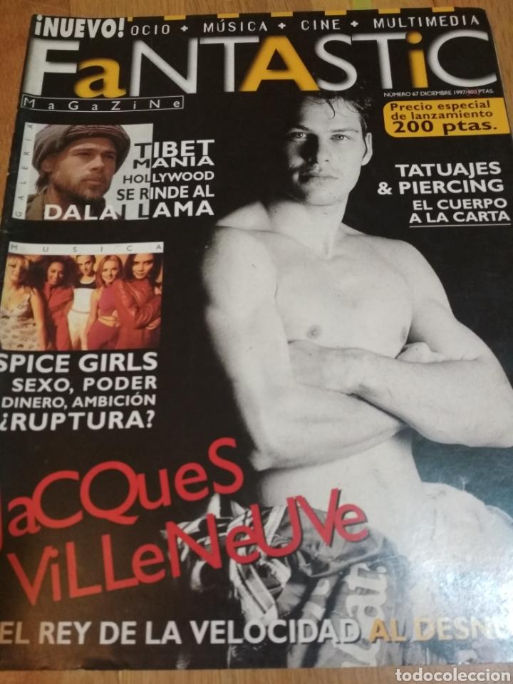 FANTASTIC MAGAZINE 1997 SPICE GIRLS MADONNA MECANO MICHAEL JACKSON (Coleccionismo - Revistas y Periódicos Modernos (a partir de 1.940) - Otros)