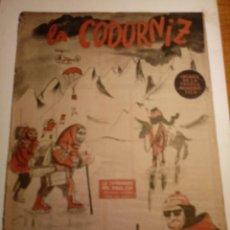 Coleccionismo de Revistas y Periódicos: REVISTA LA CODORNIZ 2 DE FEBRERO 1958 AÑO XVIII Nº 816. Lote 221735887