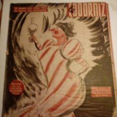 Coleccionismo de Revistas y Periódicos: REVISTA LA CODORNIZ 19 DE ENERO 1958 AÑO XVIII Nº 844. Lote 221735905