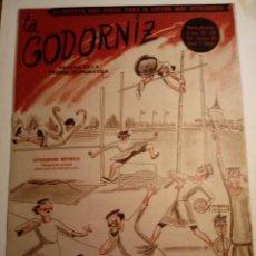 Coleccionismo de Revistas y Periódicos: REVISTA LA CODORNIZ 19 DE ENERO 1958 AÑO XVIII Nº 808. Lote 221735925